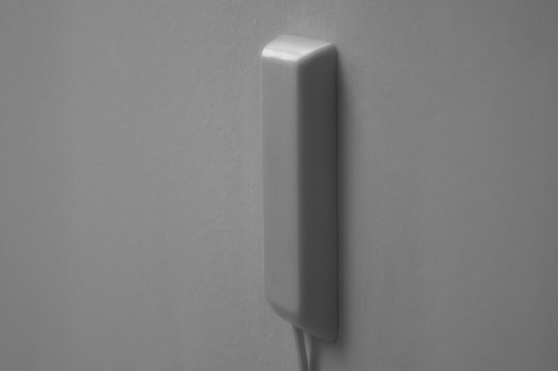 sleek socket - blends into walls, you'll forget it's there!